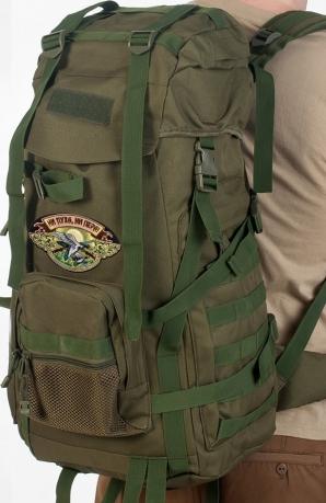 Походный рюкзак охотника с нашивкой НИ ПУХА, НИ ПЕРА! - заказать онлайн