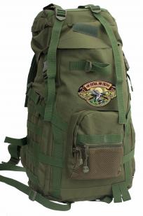 Походный рюкзак охотника с нашивкой НИ ПУХА, НИ ПЕРА! - заказать в розницу