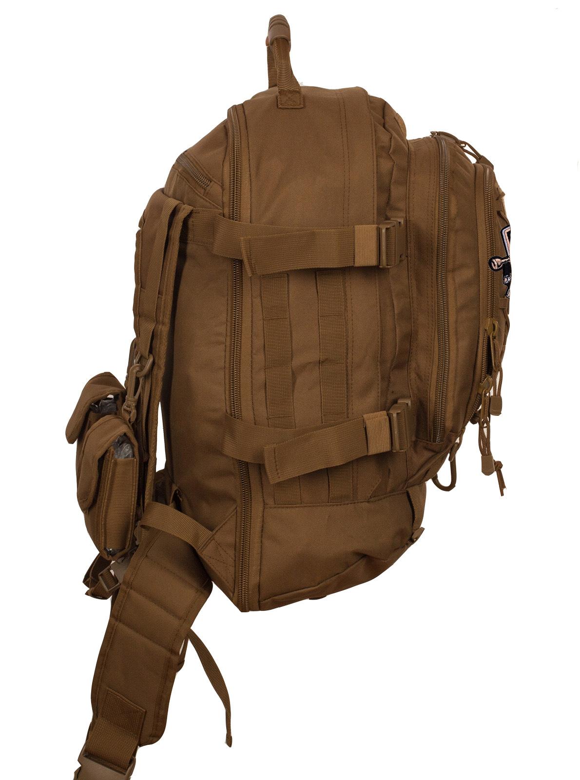 Походный штурмовой рюкзак с нашивкой Рыболовный Спецназ - купить с доставкой