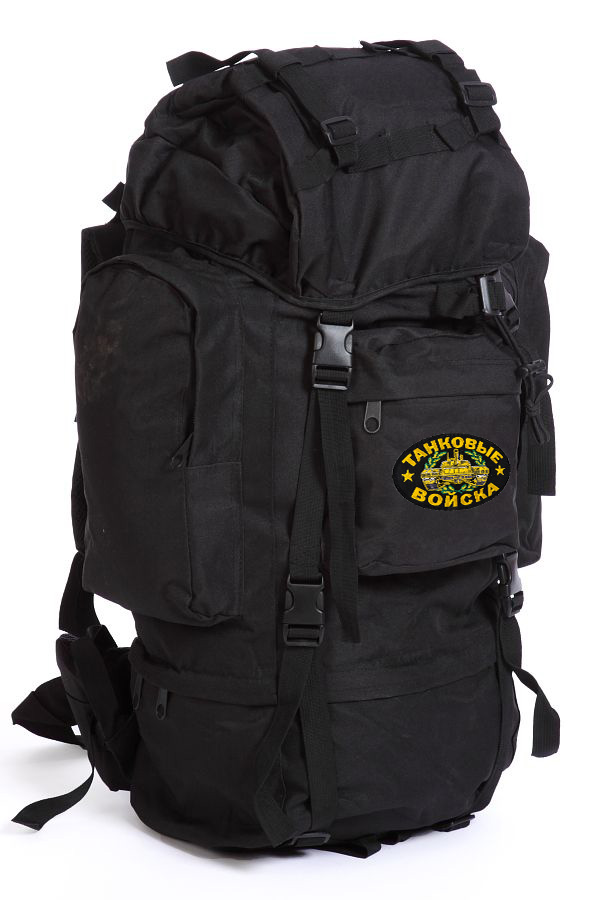 Походный тактический рюкзак с нашивкой Танковые Войска