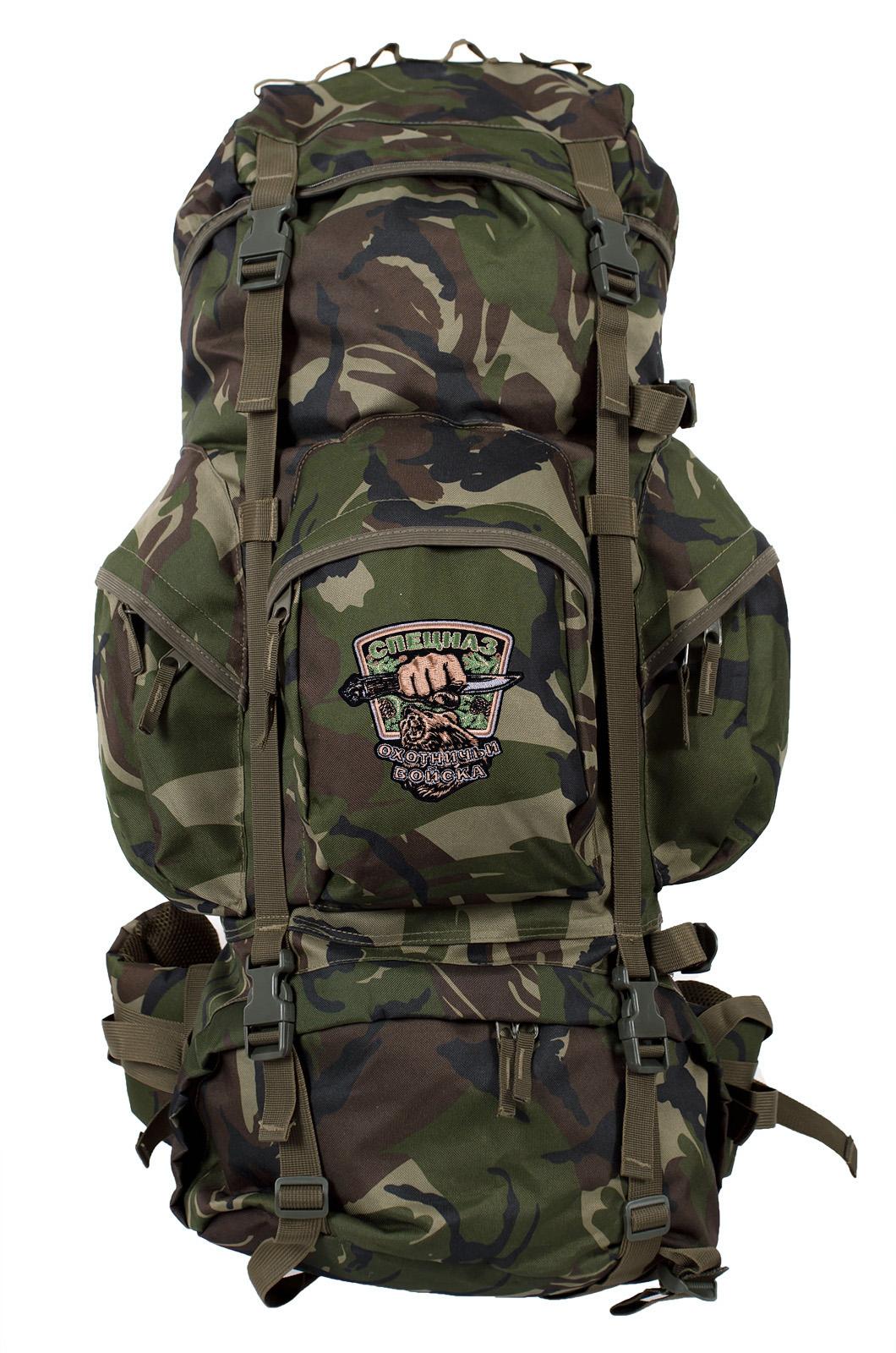 Походный трендовый рюкзак с нашивкой Охотничий Спецназ - заказать оптом