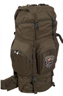 Походный внушительный рюкзак с нашивкой Рыболовный Спецназ - купить с доставкой