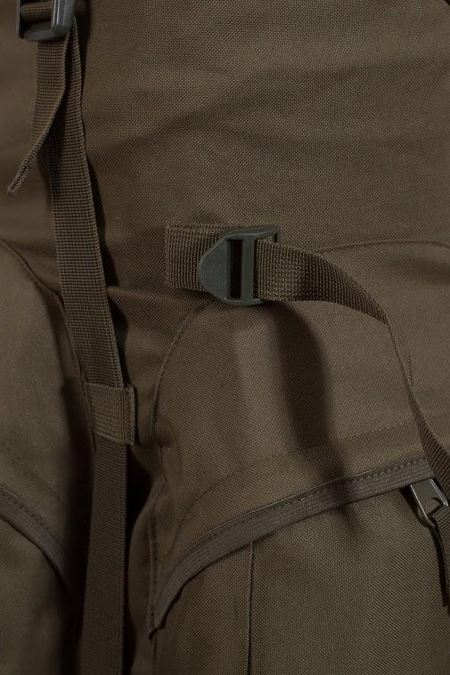 Походный внушительный рюкзак с нашивкой Рыболовный Спецназ - купить в подарок