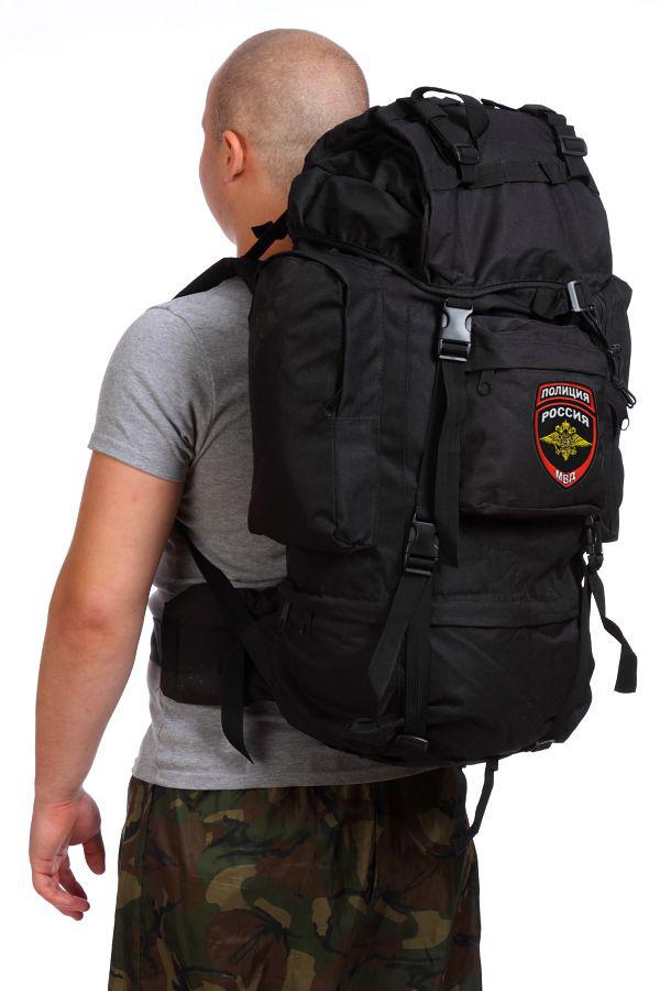 Походный военный рюкзак с нашивкой Полиция России - купить в розницу