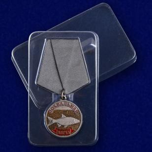 """Похвальная медаль """"Жерех"""" с доставкой"""