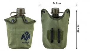 Полевая фляга в подсумке для бойцов Росгвардии с доставкой