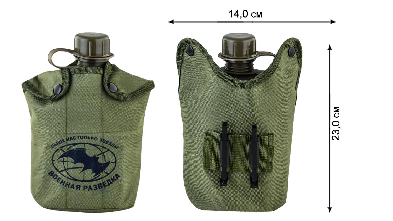 Полевая фляга Военного разведчика в термоподсумке от Военпро