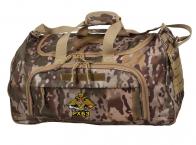 Полевая камуфляжная сумка с шевроном РХБЗ