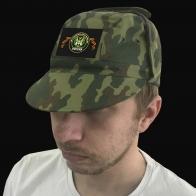 Полевая кепка с шевроном Автомобильных войск России.