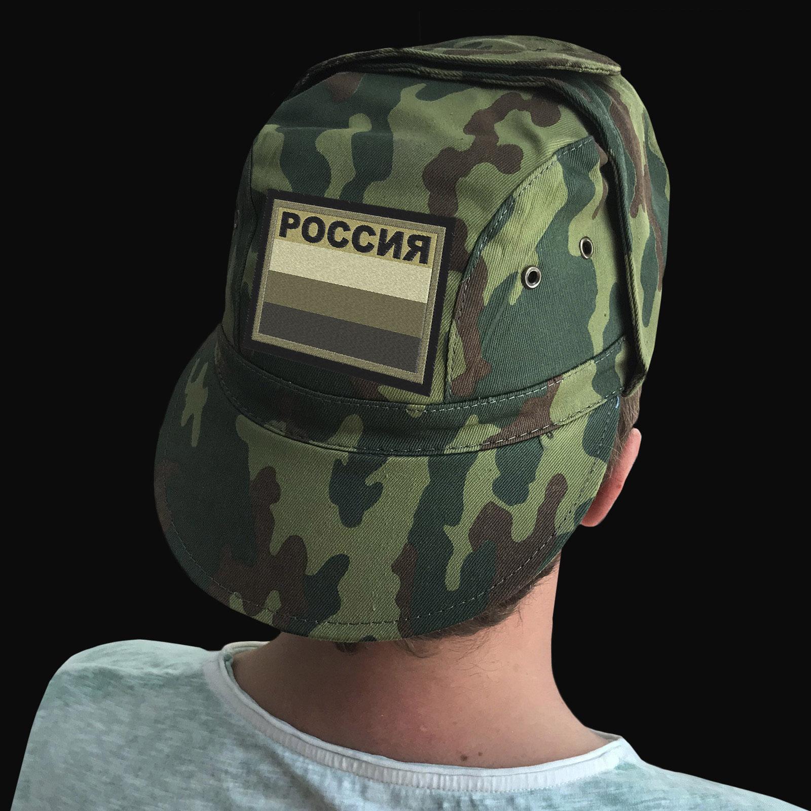 Купить в интернет магазине армейскую кепку с символикой РФ