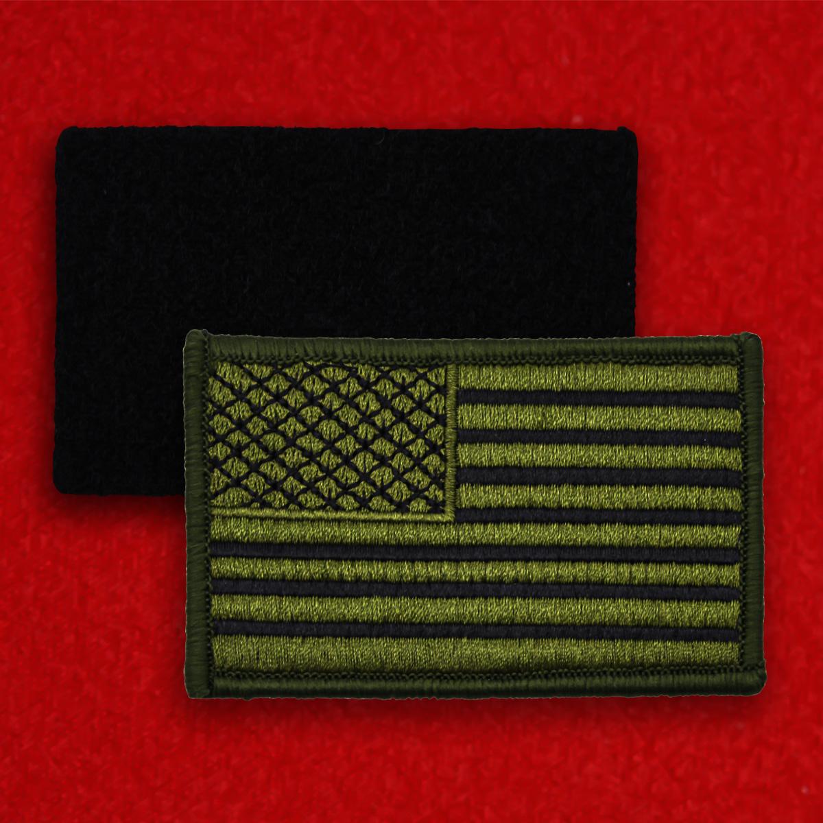 """Полевая нашивка """"Флаг США"""""""