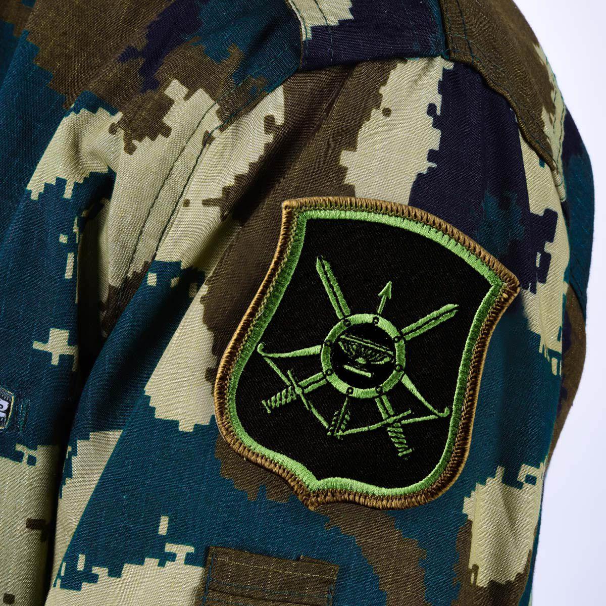 Полевой шеврон РВСН 35 ракетная дивизия