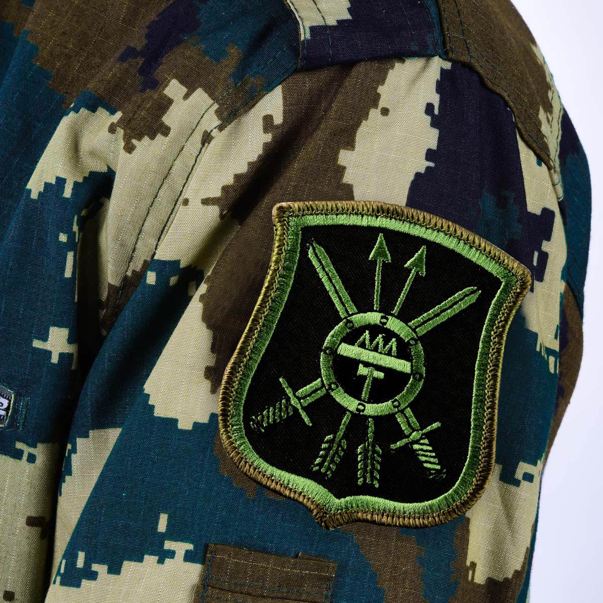 """Полевой шеврон РВСН """"42 ракетная дивизия"""""""