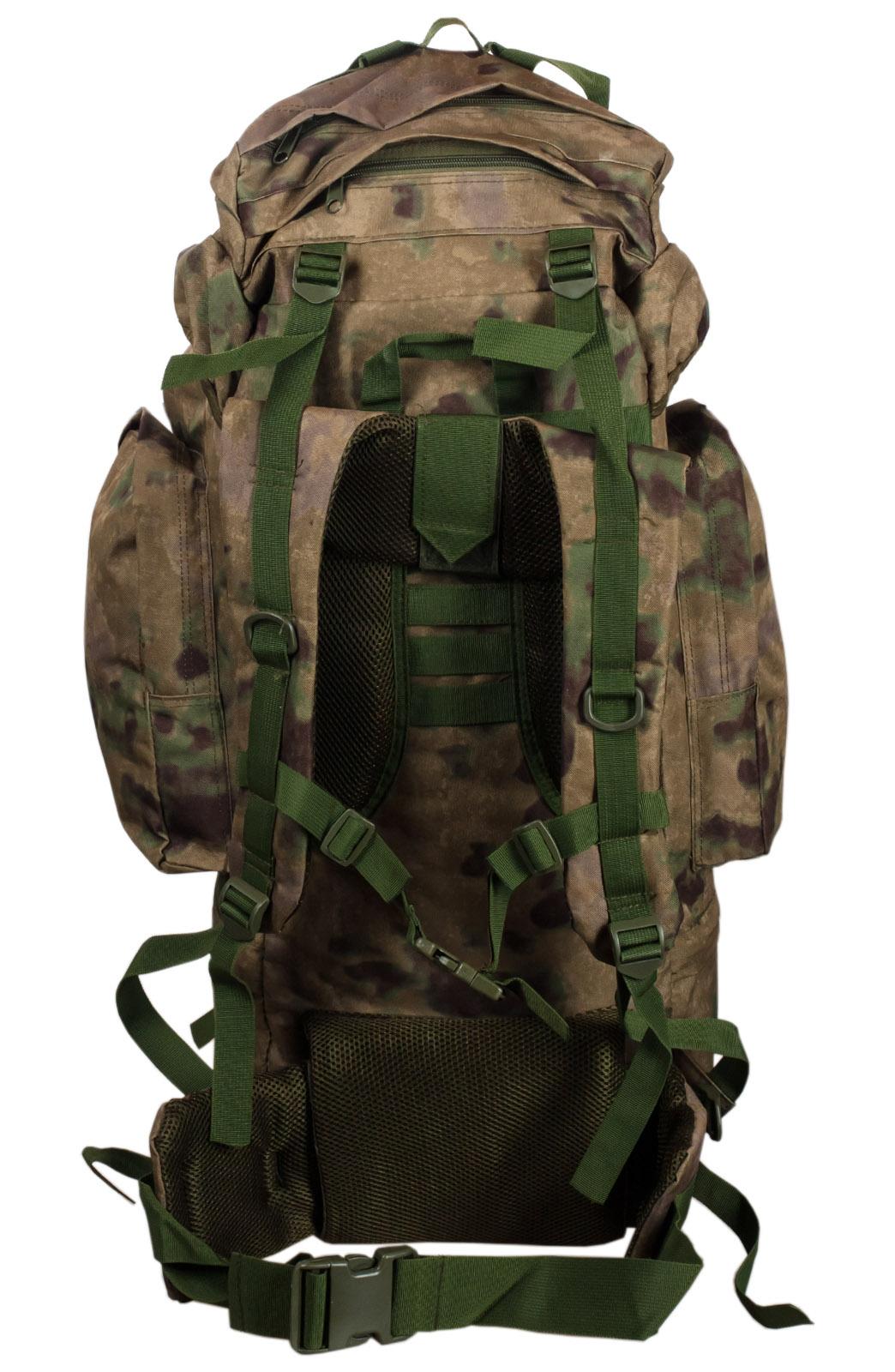 Полевой тактический рюкзак A-TACS FG Camo на 60 литров с эмблемой МВД заказать в Военпро