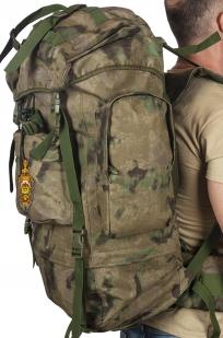 Полевой тактический рюкзак A-TACS FG Camo на 60 литров с эмблемой МВД оптом в Военпро