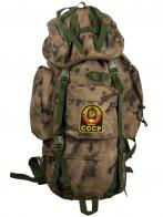 Полевой тактический рюкзак A-TACS FG Camo на 60 литров с эмблемой СССР