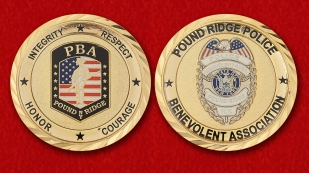 Police Benevolent Association Pound Ridge - obverse and reverse