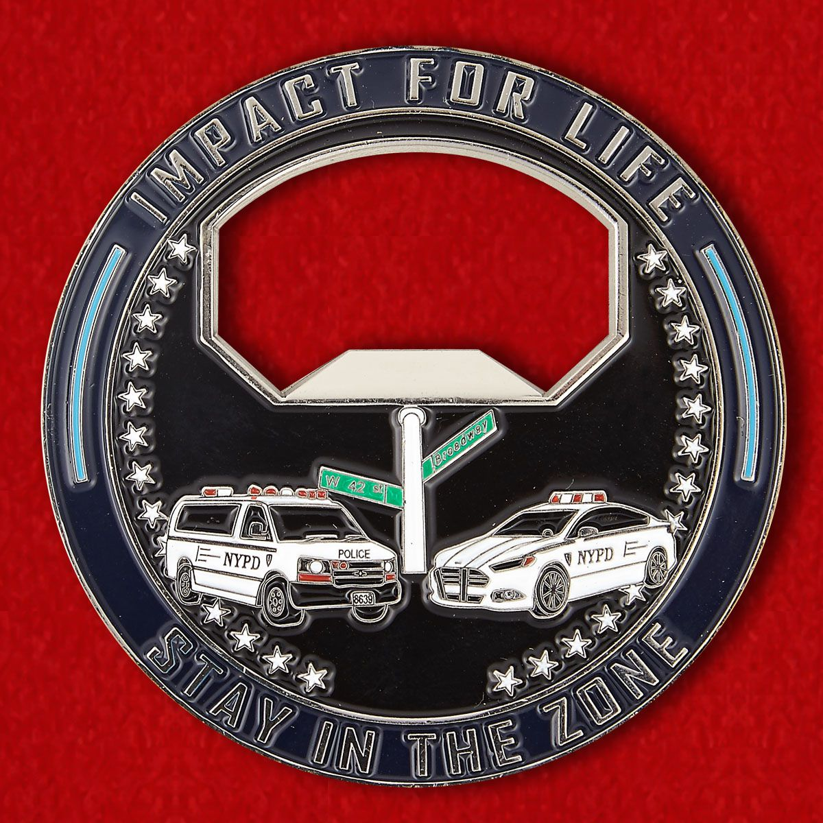 Police Department of New York City Challenge Coin
