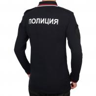 Полицейская футболка для юношей с длинным рукавом