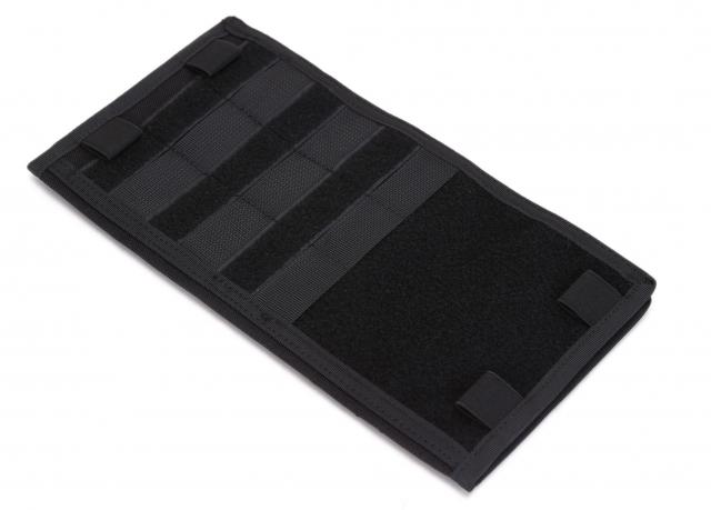 Полицеский тактический органайзер на солнцезащитный козырек автомобиля (черный)