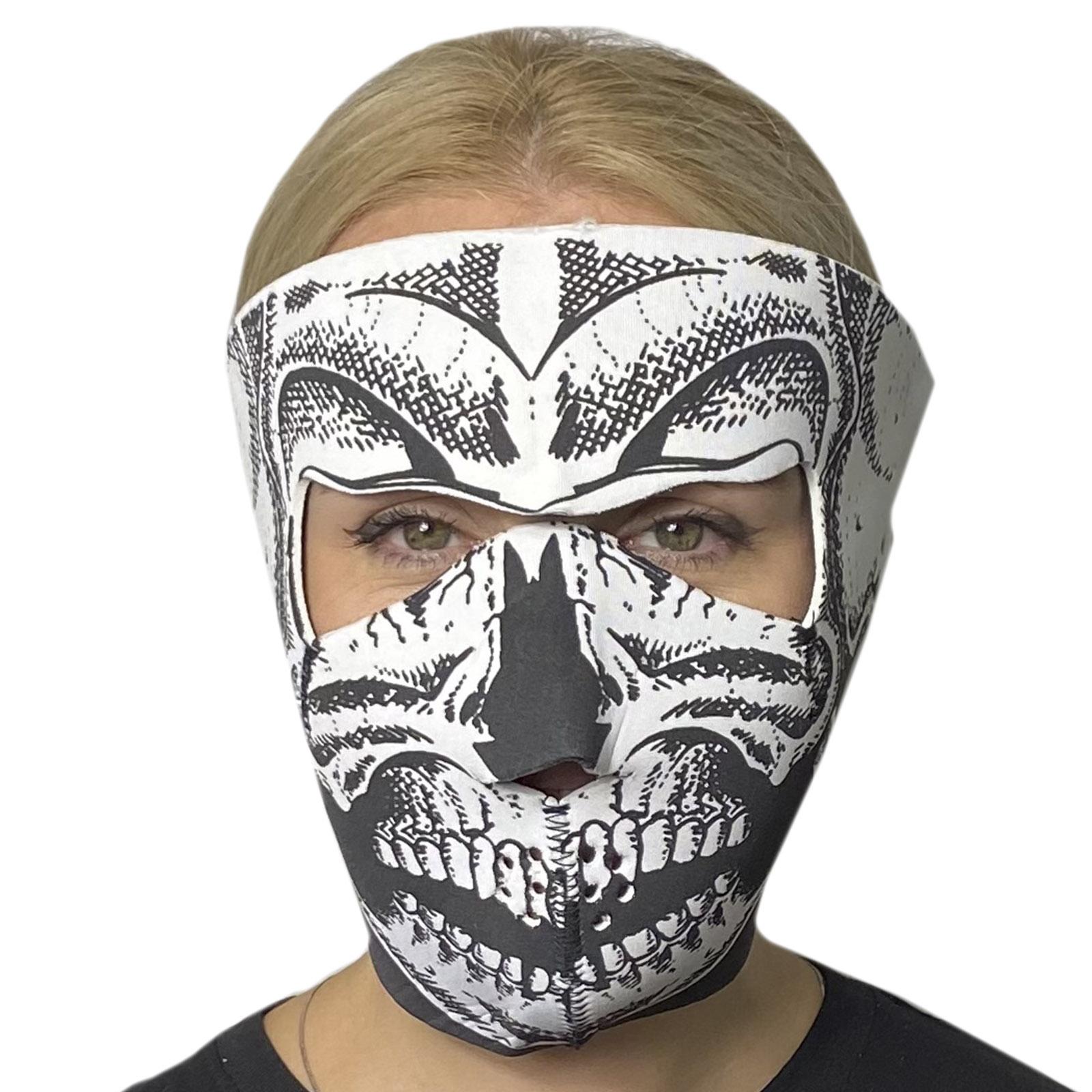 Полнолицевая антивирусная маска Skullskinz Skeleton