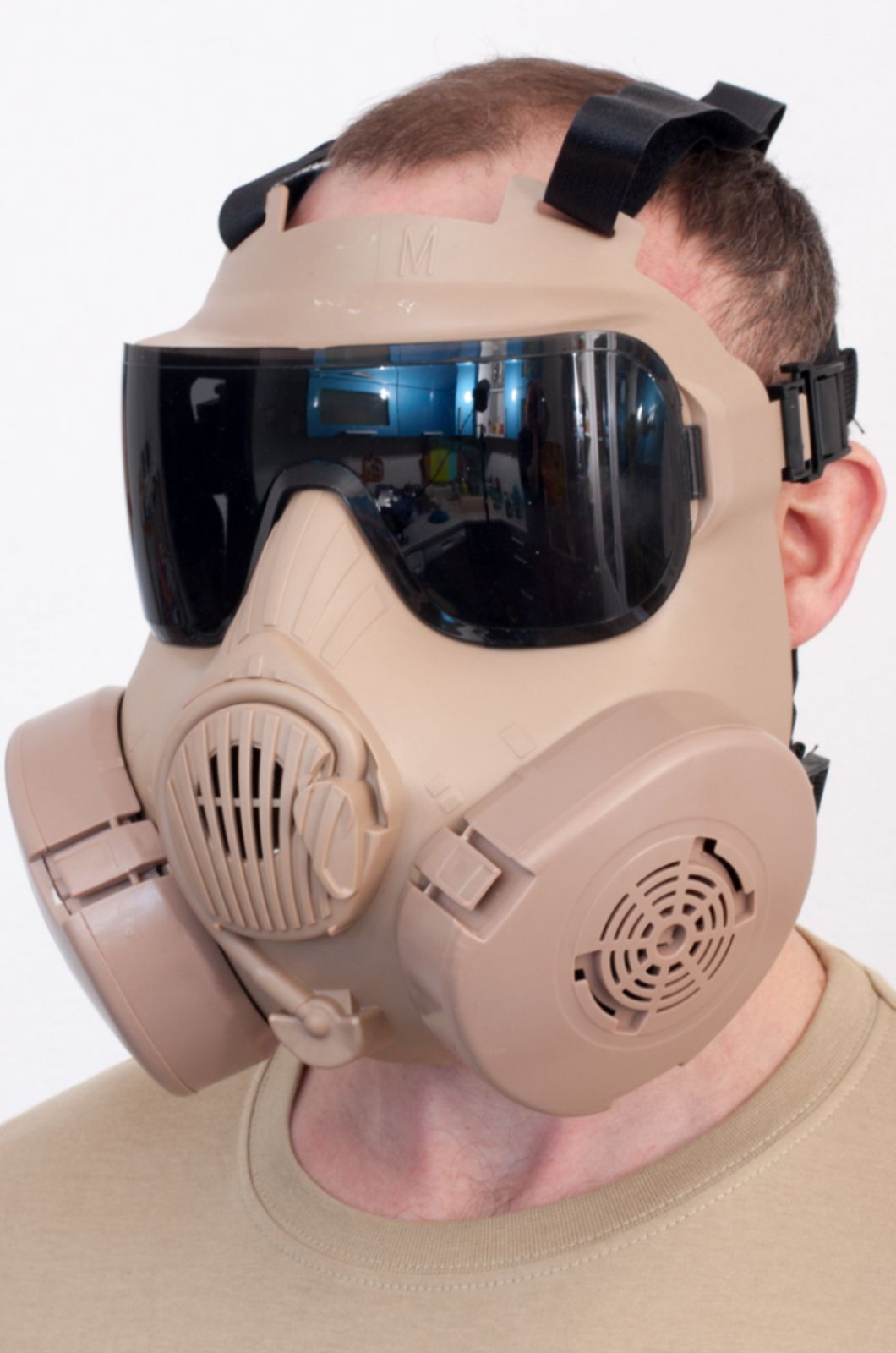 Полнолицевая маска респиратор для тактических игр