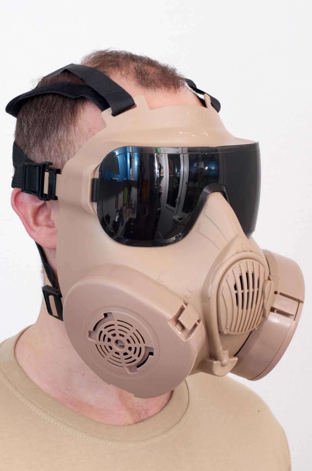 Полнолицевая маска респиратор по лучшей цене