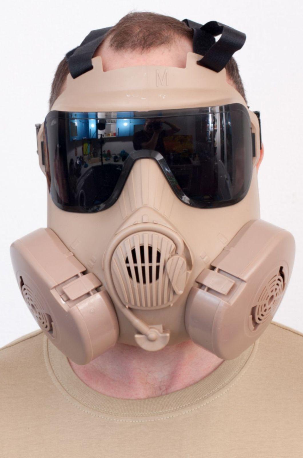 Полнолицевая маска респиратор