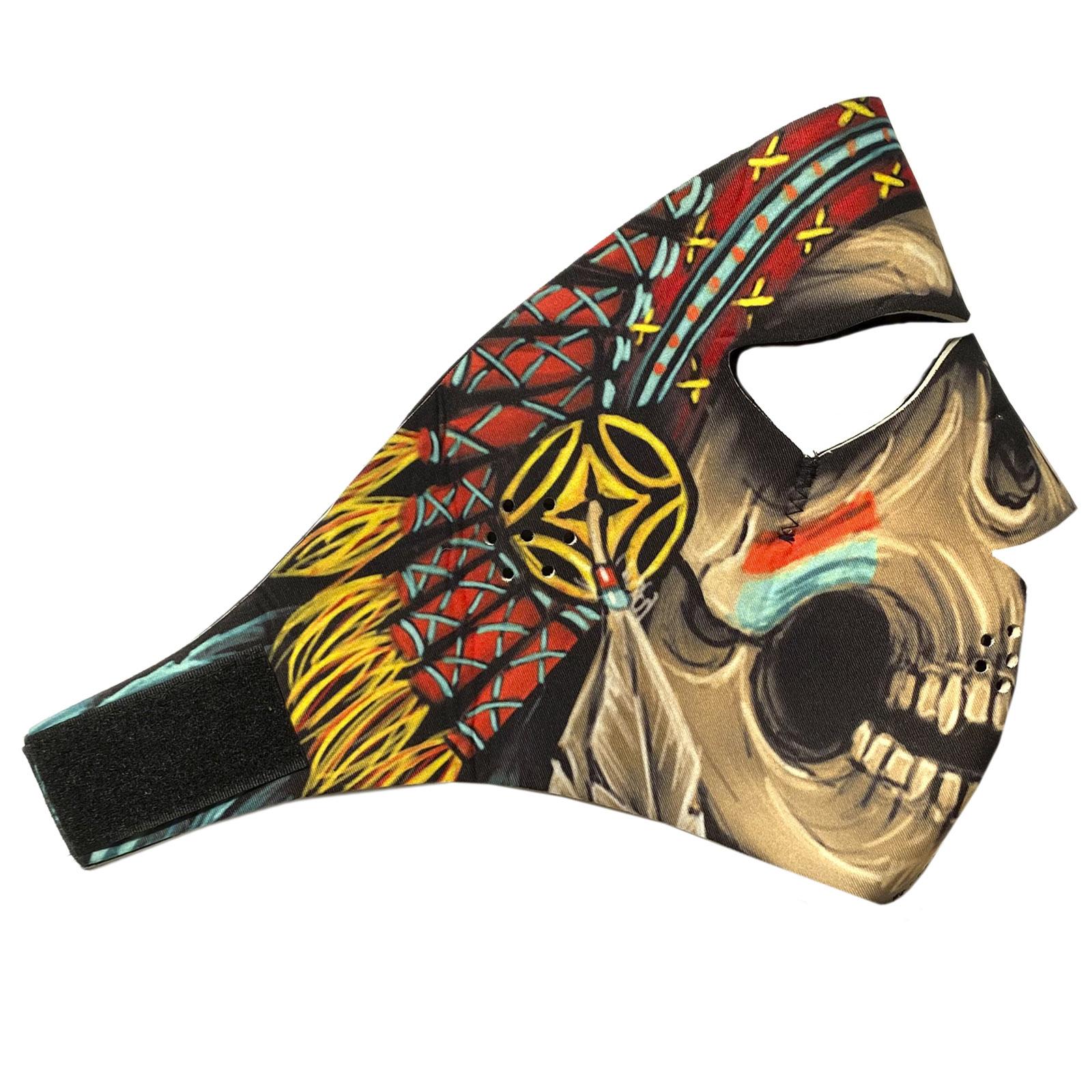 Полнолицевая защитная неопреновая маска Wild Wear Shaman