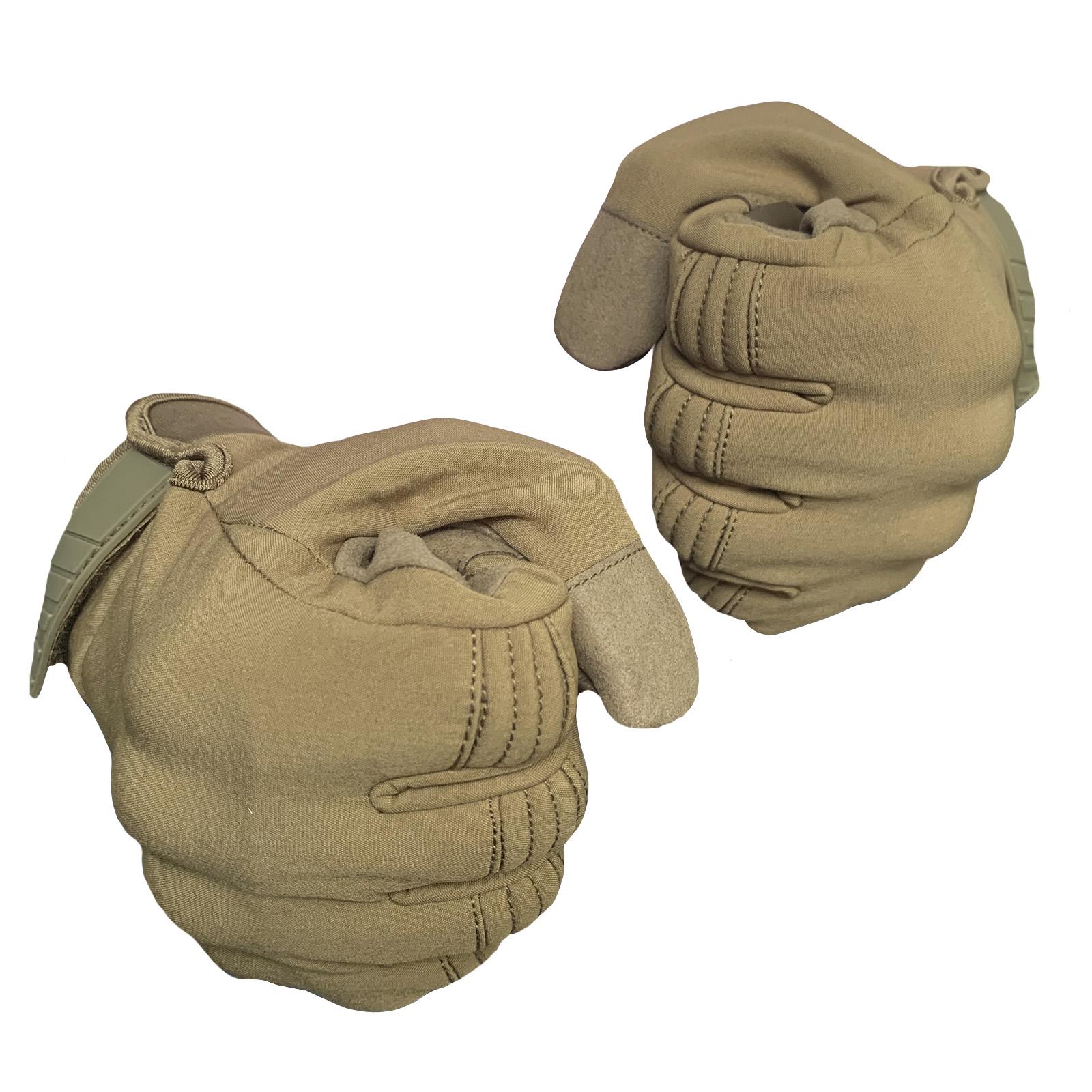 Мужские тактические перчатки зима