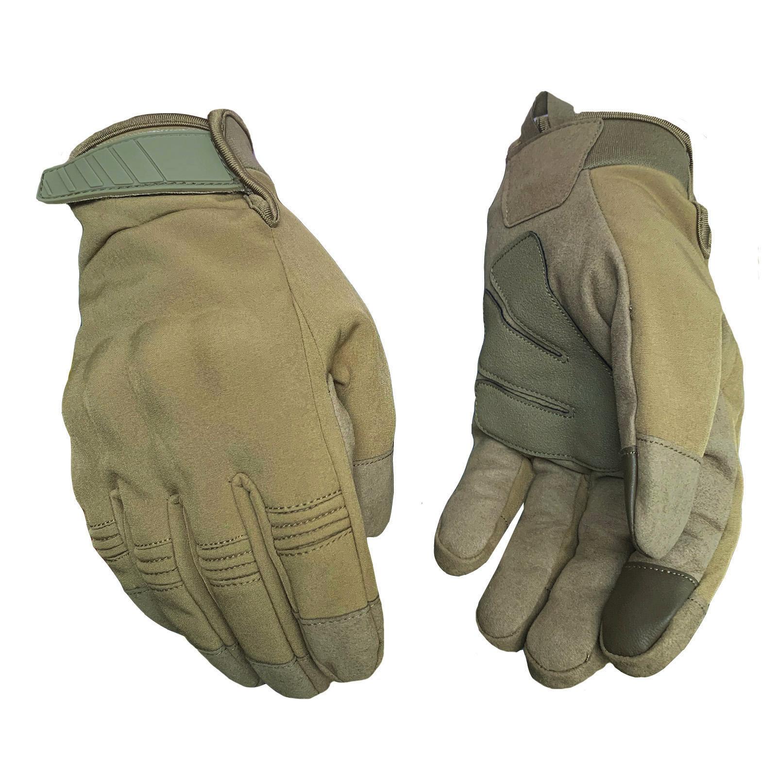 Полнопалые тактические перчатки зима