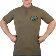 Оливковая футболка поло 21 ОБрПСКР Новороссийск