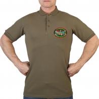 Оливковая футболка поло 27 Мукачевский погранотряд