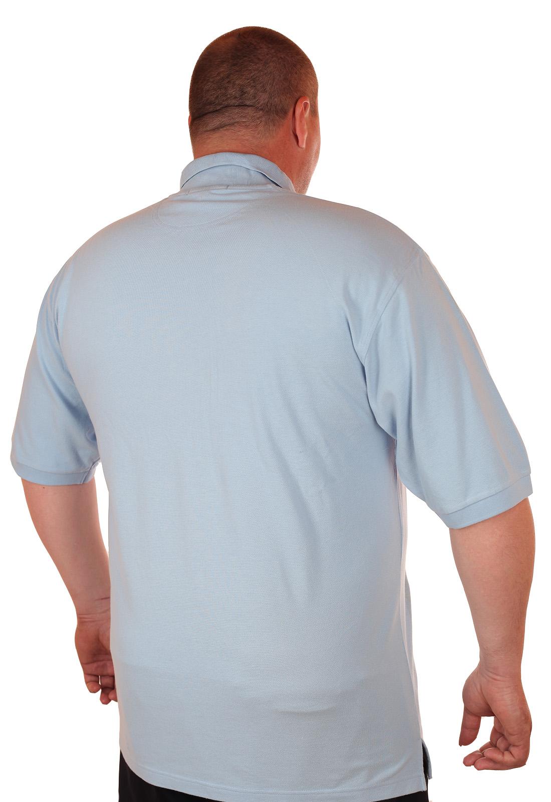 Заказать поло большого размера для серьёзных мужчин от Port Authority (США)