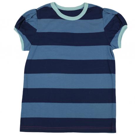 Полосатая футболка из 100% хлопка. Мягкая и практичная