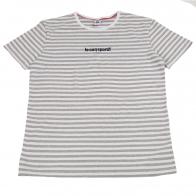 Полосатая футболка Le Sod Sportif. 100% хлопок, качественный пошив