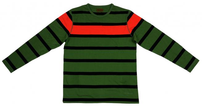 Полосатая футболка с длинным рукавом Longbrigs