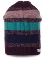 Полосатая шапочка Neff для стильных красоток. Теплая и мягкая модель по привлекательной цене