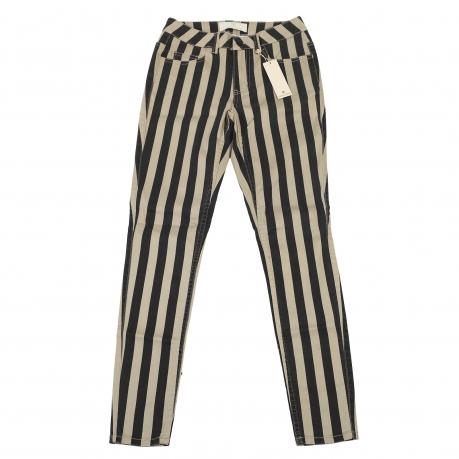 Полосатые женские брюки Pieces.