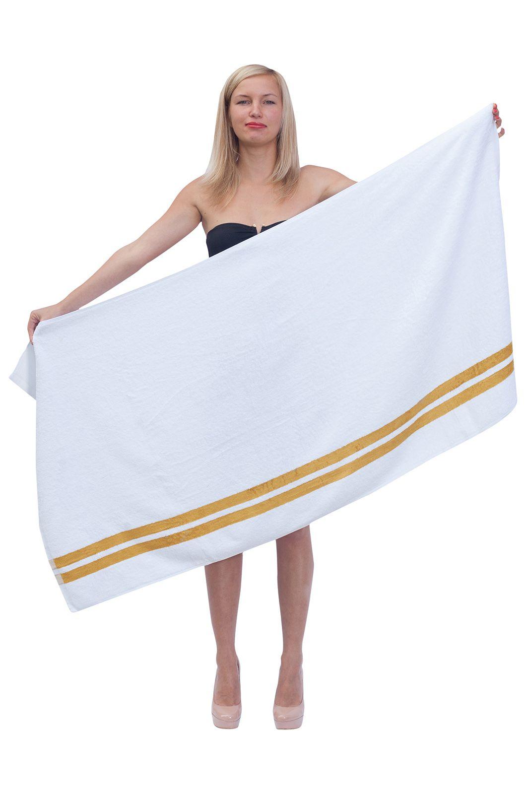 Полотенце белое - купить с доставкой недорого