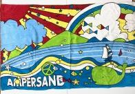 Полотенце большое детское Ampersand