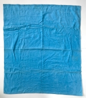 Полотенце большое голубого цвета