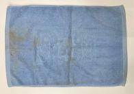 Полотенце для ног голубое