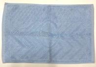 Полотенце для ног голубого цвета