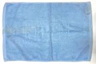 Полотенце для ног насыщенного голубого цвета