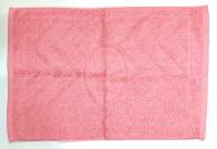 Полотенце для ног розовое