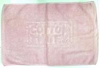 Полотенце для ног розового цвета