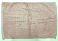 Полотенце для ног светло-розовое