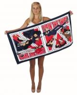 Для фанатов анимэ и манга. Яркое пляжное полотенце LUPIN III