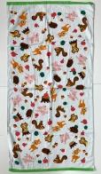 Полотенце махровое с милым детским принтом